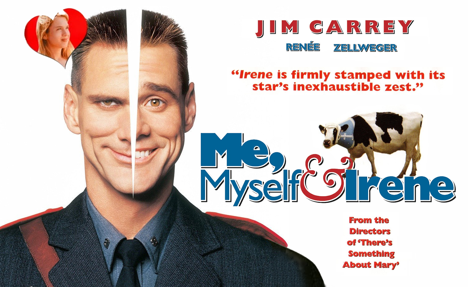 Poster Film Me Myself & Irene Jim Carrrey - dmi